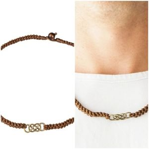 JUST IN MARITIME BRASS URBAN NECKLACE